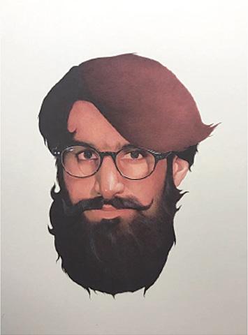 Head of a Hunzai, Irfan Hassan