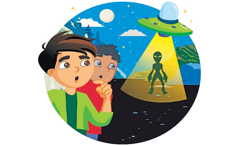 Story Time: An alien friend - Newspaper - DAWN COM