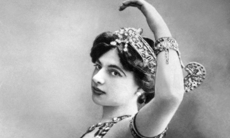 Suspected double agent Mata Hari.