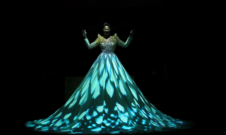 گلوکارہ میشا شفی کا یہ انداز سب کو بھا گیا —۔