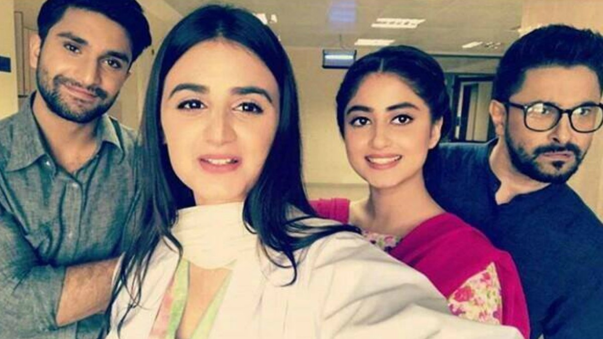 Yaqeen Ka Safar featured Ahad Raza Mir, Hira Mani, Sajal Aly and Mani