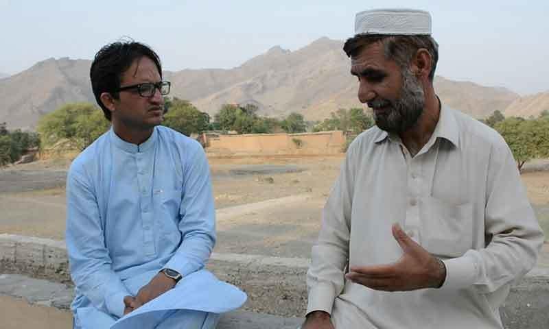 طارق کے بھائی بسولی خان —فوٹو: لکھاری