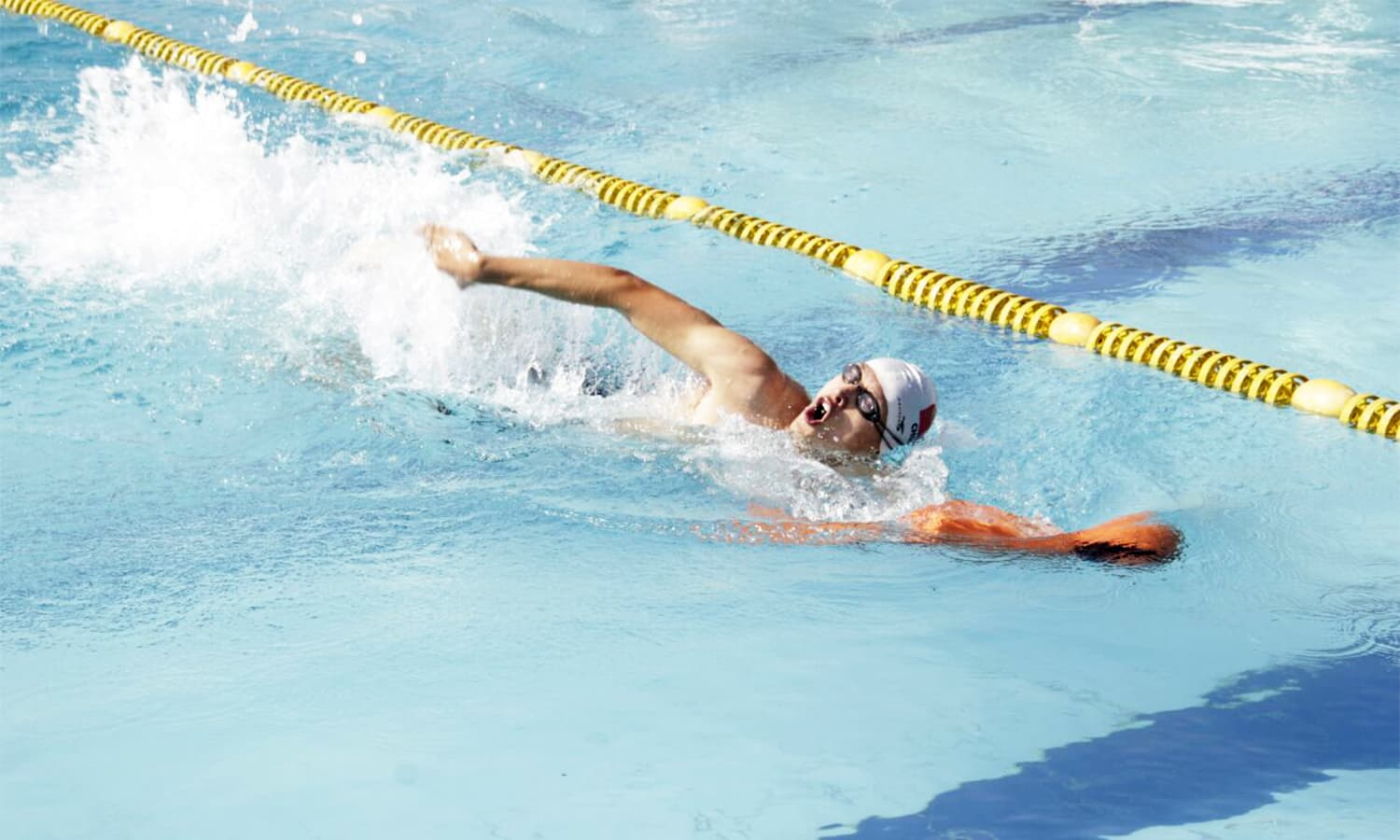 The three-day long tournament included swimming and lifesaving races. — Pak Navy