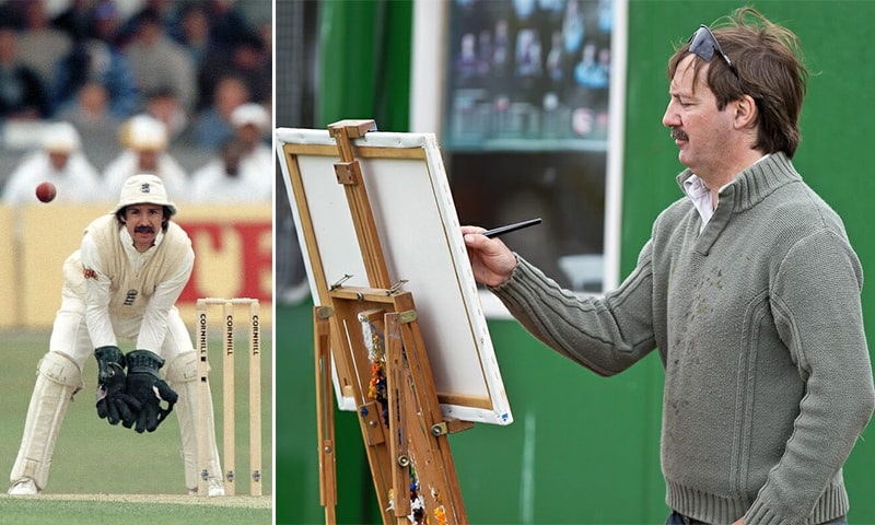 Jack Russell's two great loves: wicket-keeping and painting