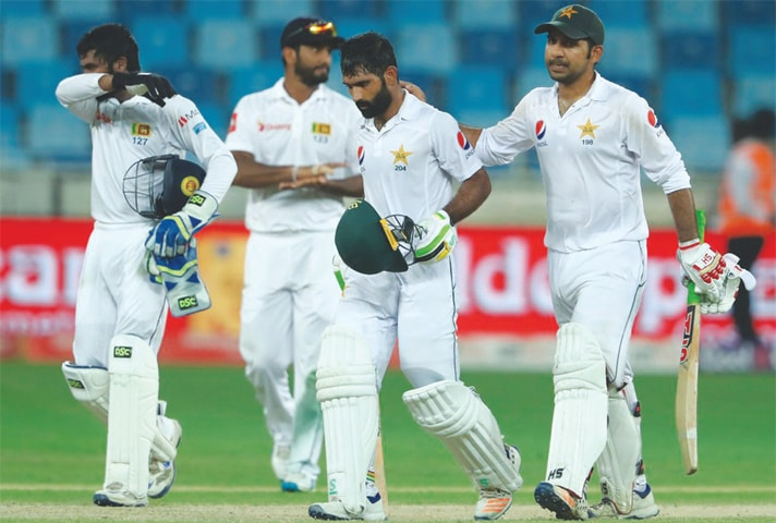 Asad Shafiq's Herculean efforts went in vain in the Dubai Test as Pakistan shuffled the batting order once again.