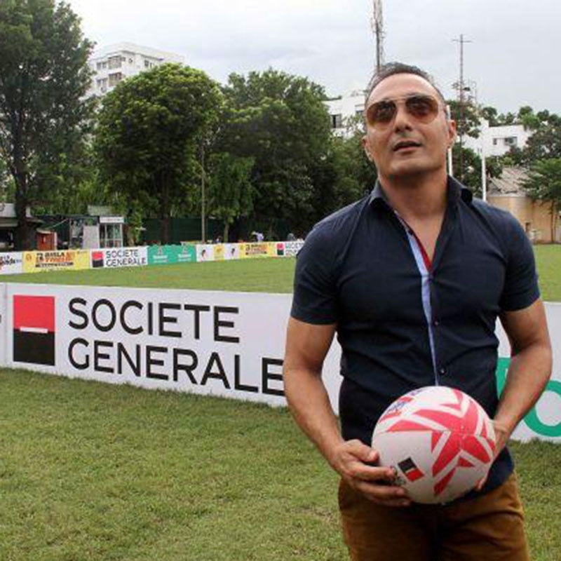 Bose is an international rugby player, an extremely articulate man and a social activist
