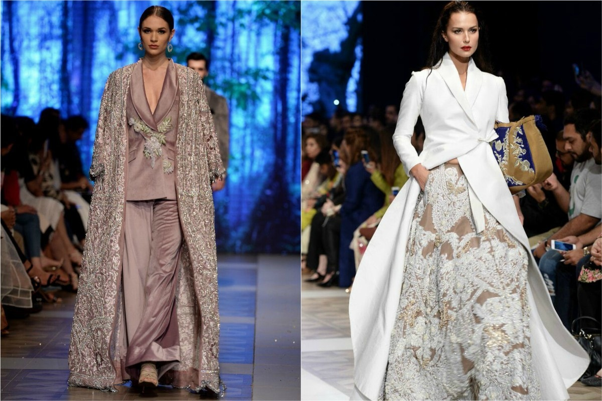 If you really want to wear something unique, these Sana Safinaz (L) and Ali Xeeshan (R) outfits could do the trick