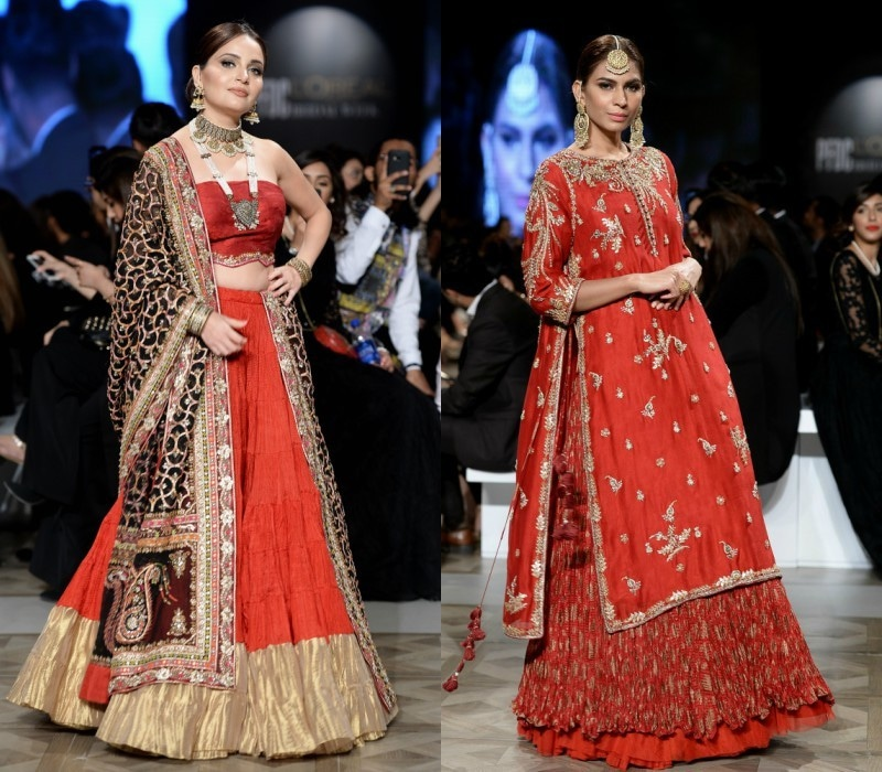 Misha Lakhani brought red back on the ramp like a boss