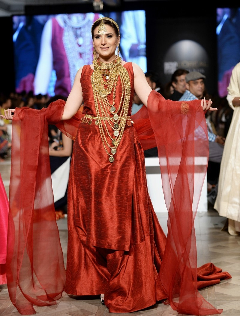 Wasim Khan went all red with his show-stopper