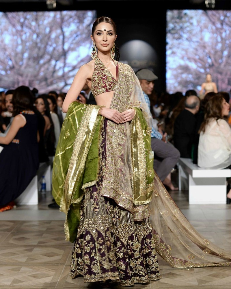 This Shamsha Hashwani number was one of our favourites on the ramp