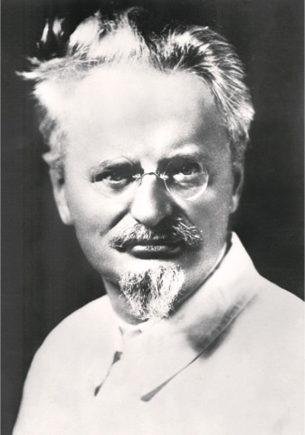 EXILED Soviet Jewish communist revolutionary leader Leon Trotsky.—AFP