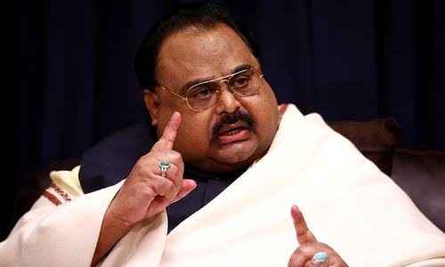 UK mulling hate speech charges against Altaf Hussain