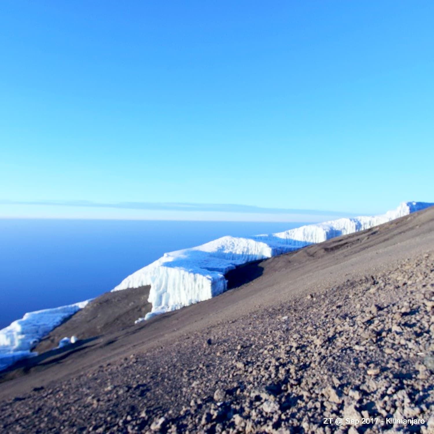 Rebmann glacier.