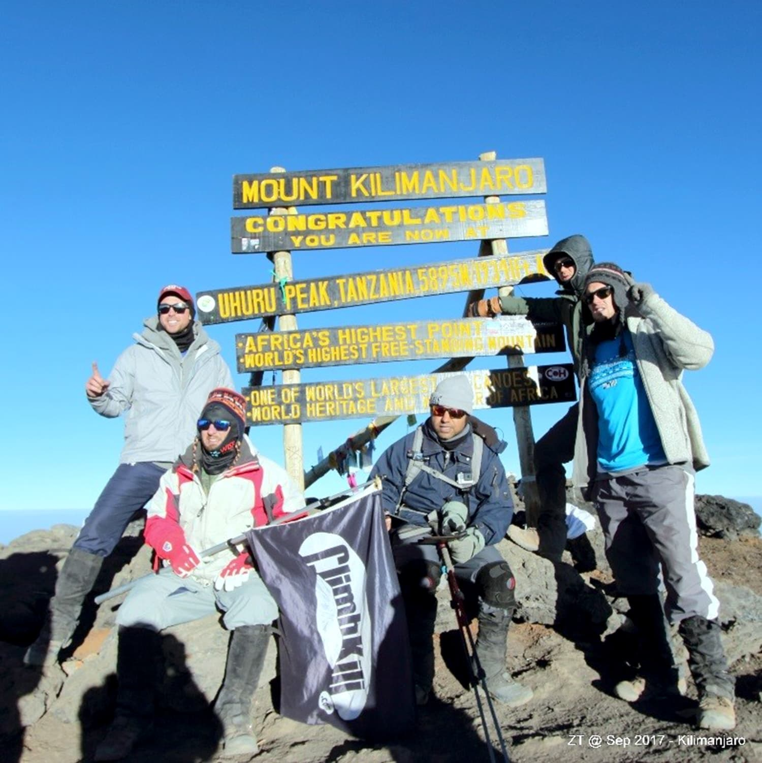 On top of Africa - been there, done that!