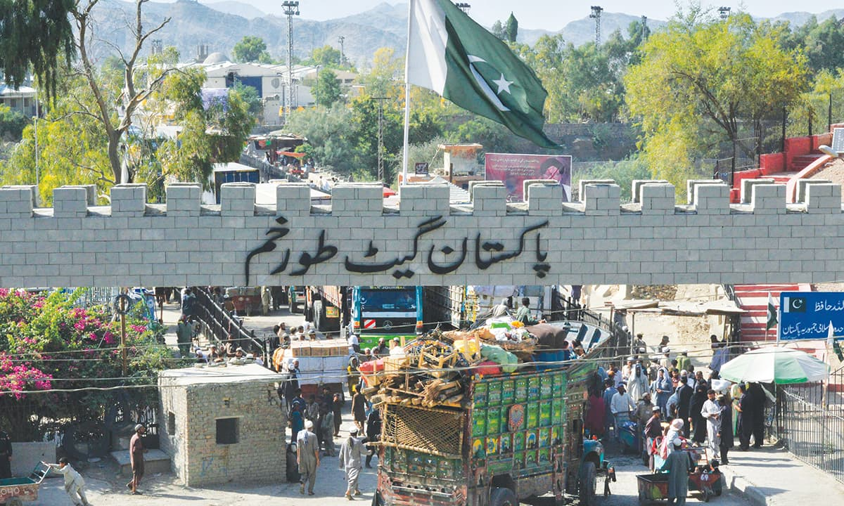 The Torkham border crossing between Pakistan and Afghanistan | Abdul Majeed Goraya, White Star