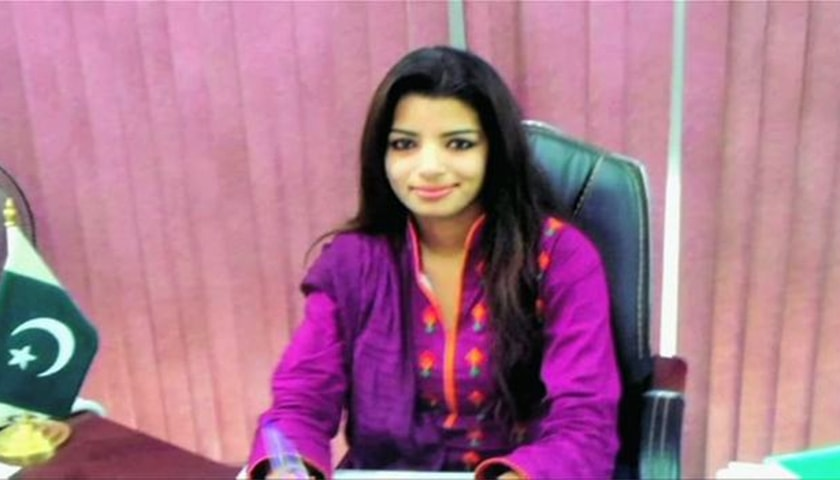 Zeenat Shahzadi.—Photo courtesy BBC