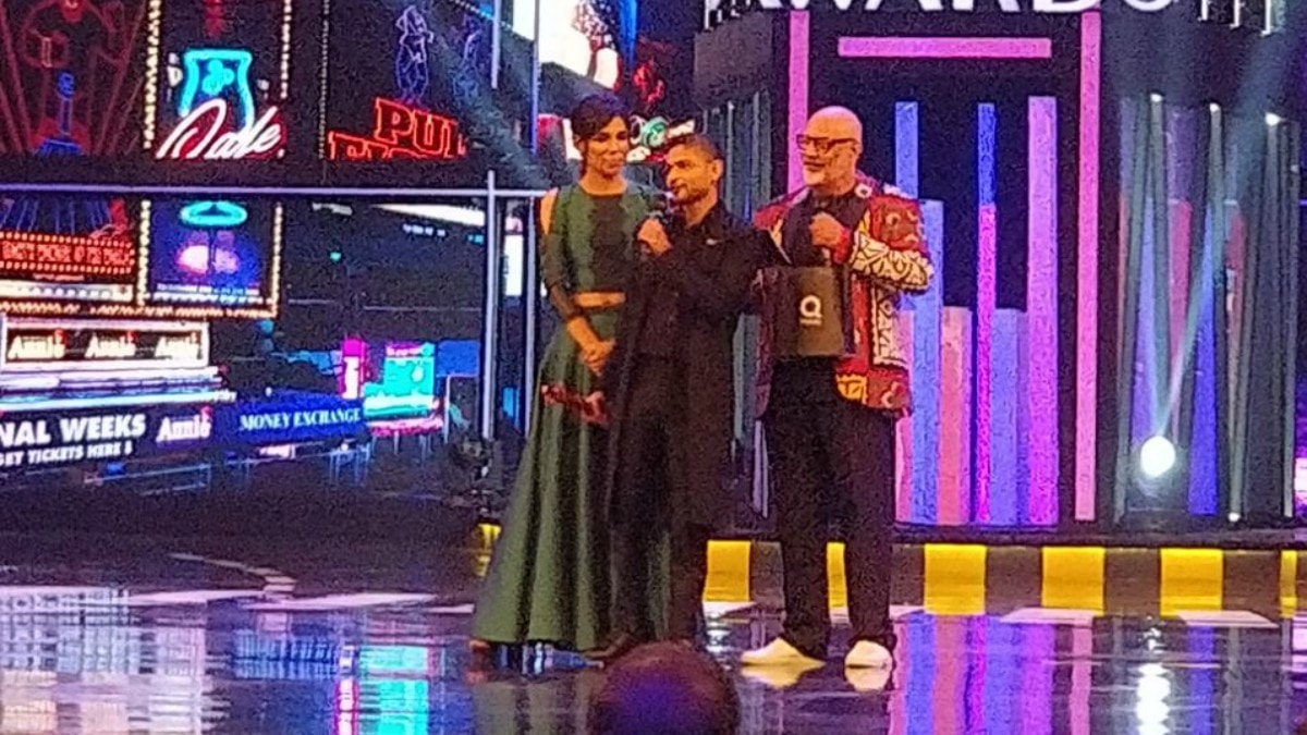 Zaheer Abbas wins Designer of the Year - Demi Couture. No surprises there!