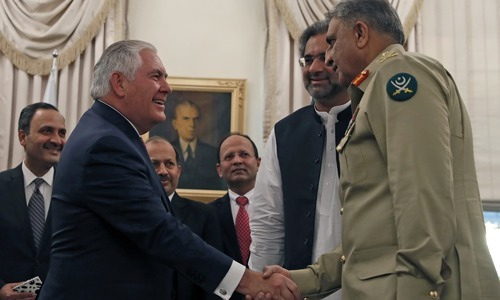 Tillerson asks Islamabad to step up fight against terrorists