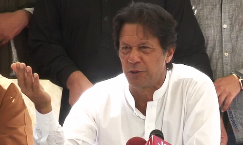 'In touch with Aamir Liaquat, other opinion makers,' says Imran