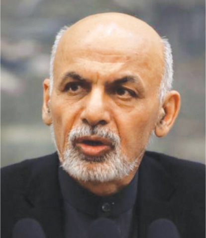 AFGHAN President Ashraf Ghani says his govt can block Pakistan's access to Central Asia.
