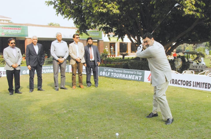 Governor's Cup tees off today - Newspaper - DAWN COM