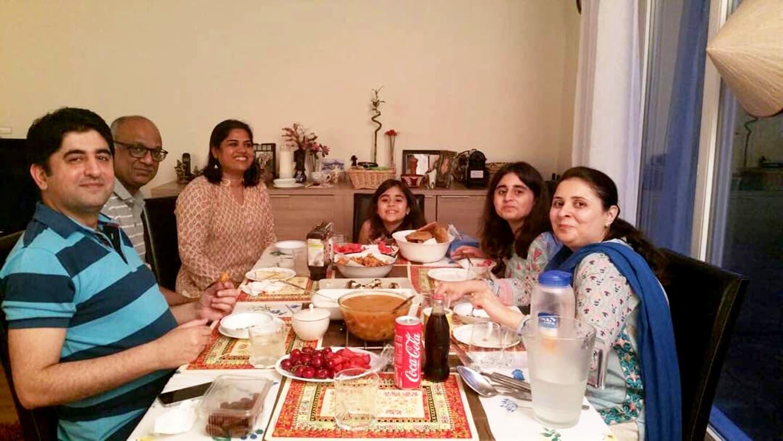 Iftar party during Ramzan 2017.