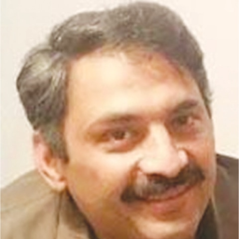 JOURNALIST Ahmed Noorani was pulled out of his car by four people and stabbed in the head on Friday.
