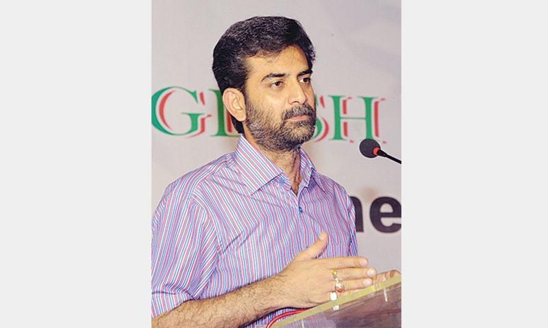 Hammad Siddiqui, former chief of the MQM Karachi Tanzeemi Committee.— File