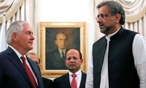 US will eradicate terrorism, with or without Pakistan: Tillerson
