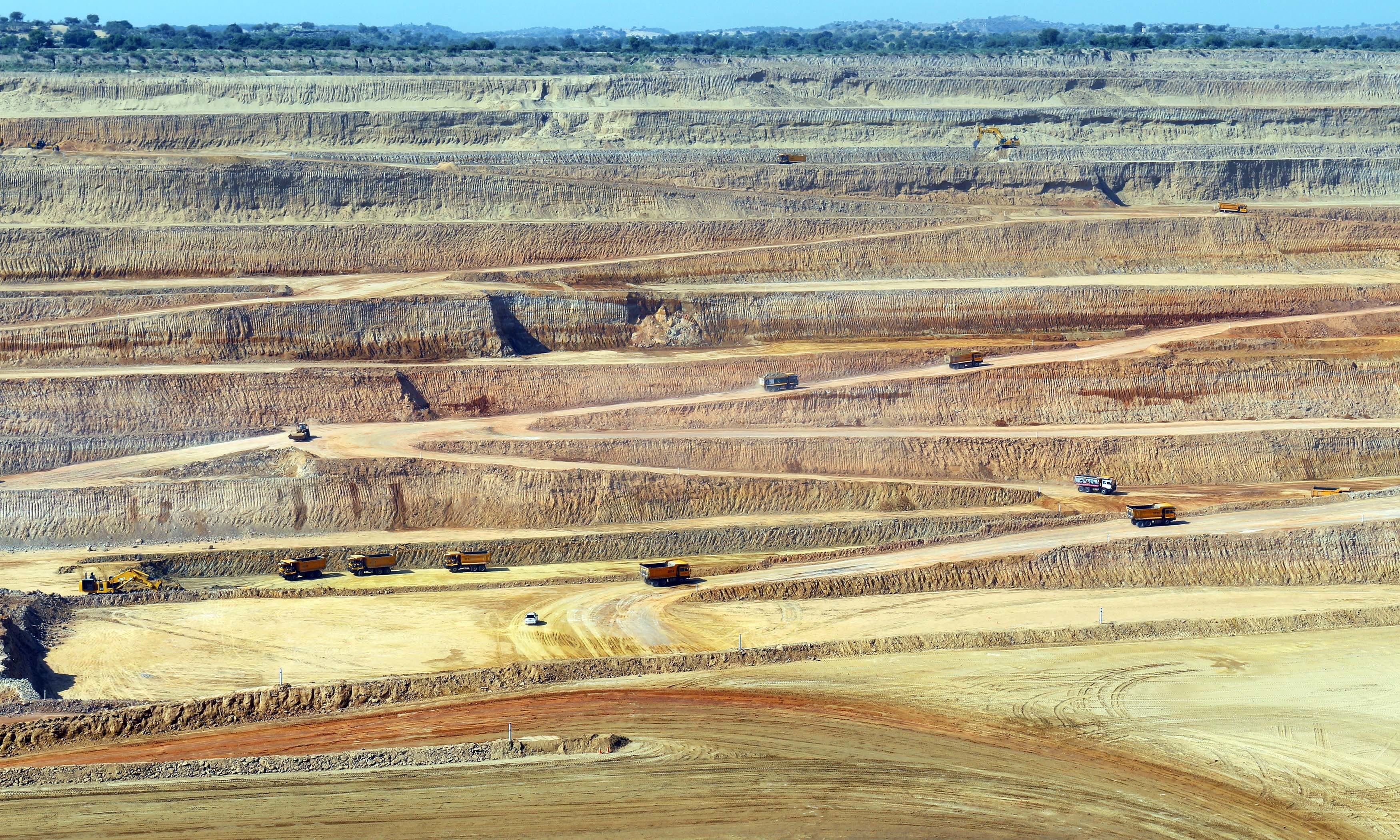The company would be mining 7.6 million tonnes per annum of coal.