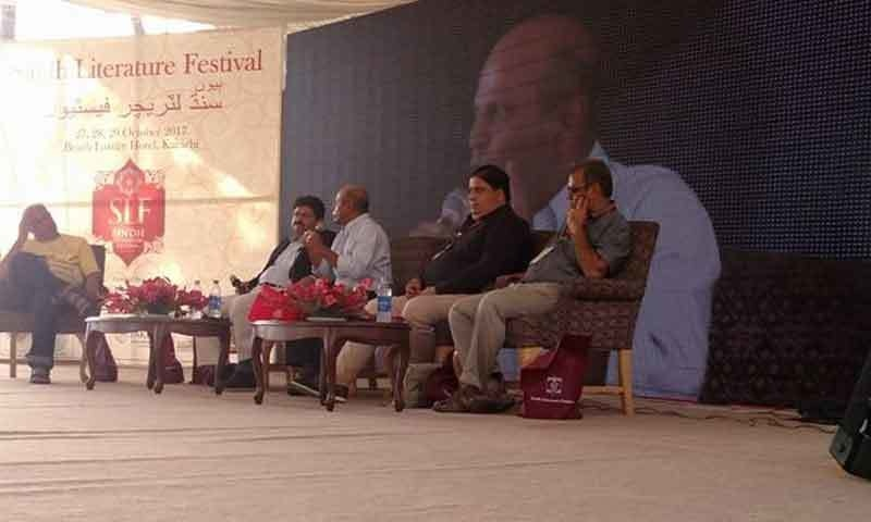 میڈیا سے متعلق سیشنز میں ہزاروں افراد شریک ہوئے—فوٹو: خالد ہاشمانی