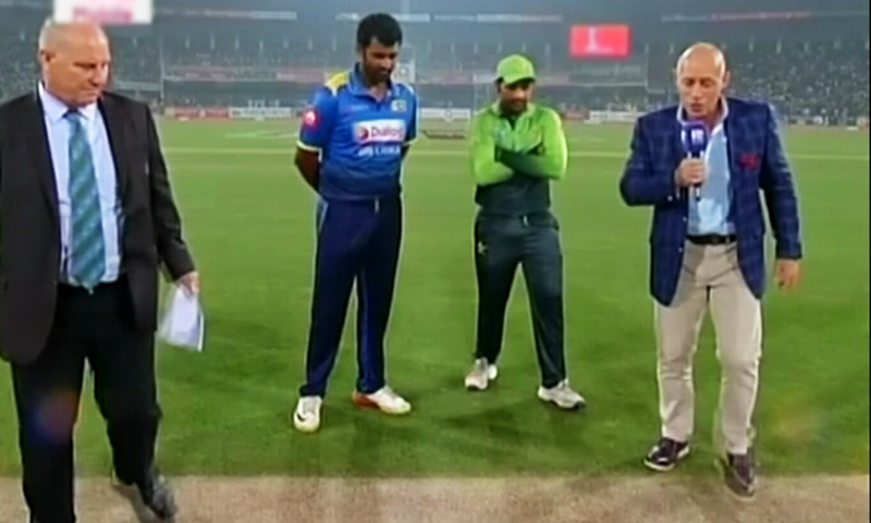 Sri Lanka won the toss and opted to field. —DawnNews