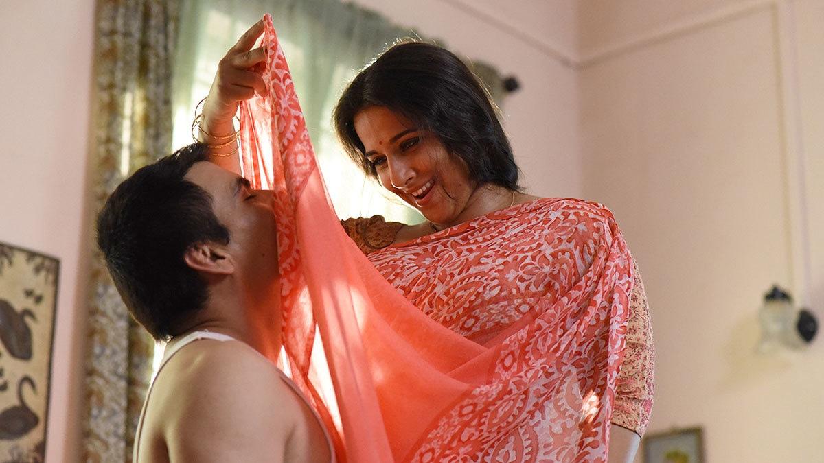 "Vidya Balan plays a typical suburban housewife in her upcoming film ""Tumhari Sulu"""