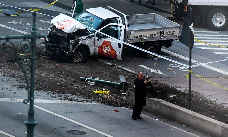 Using vehicles as weapons of terror in Europe and America