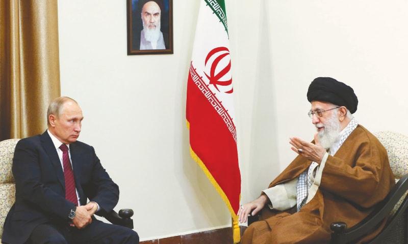 Iran, Russia can isolate US, says Khamenei