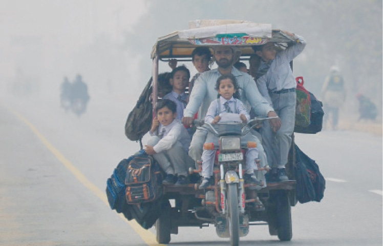 Punjab, other provinces grapple with debilitating effects of smog