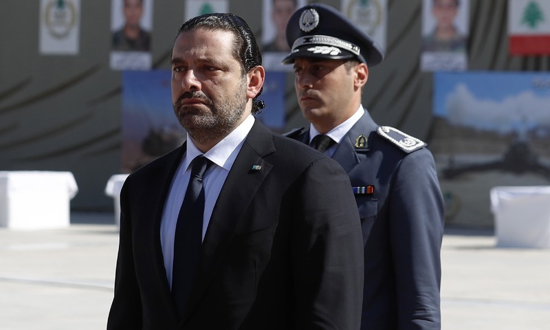 سعد حریری — فائل فوٹو / اے پی