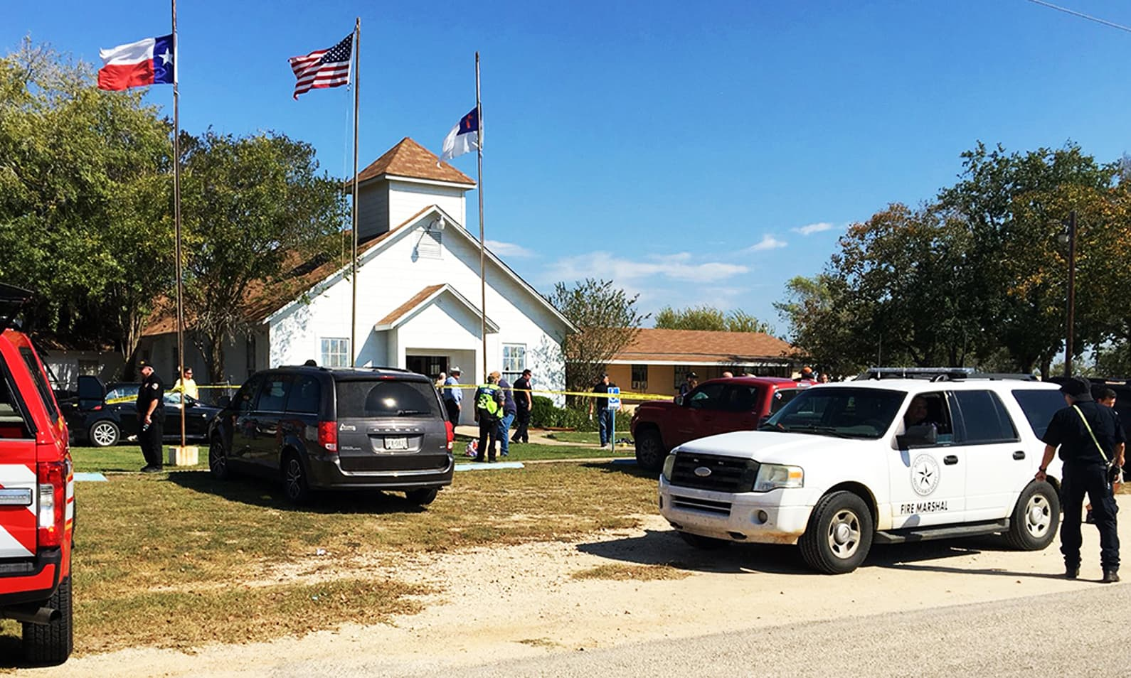 At least 26 killed in shooting at Texas church: US media