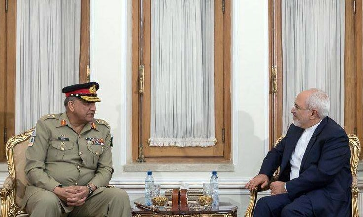 Iranian leadership thanked Gen Bajwa for his visit and acknowledged Pakistan's sacrifices and achievements. —ISPR