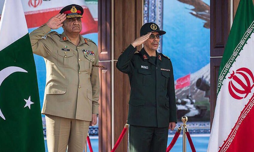 COAS meets Iranian Chief of General Staff. —ISPR