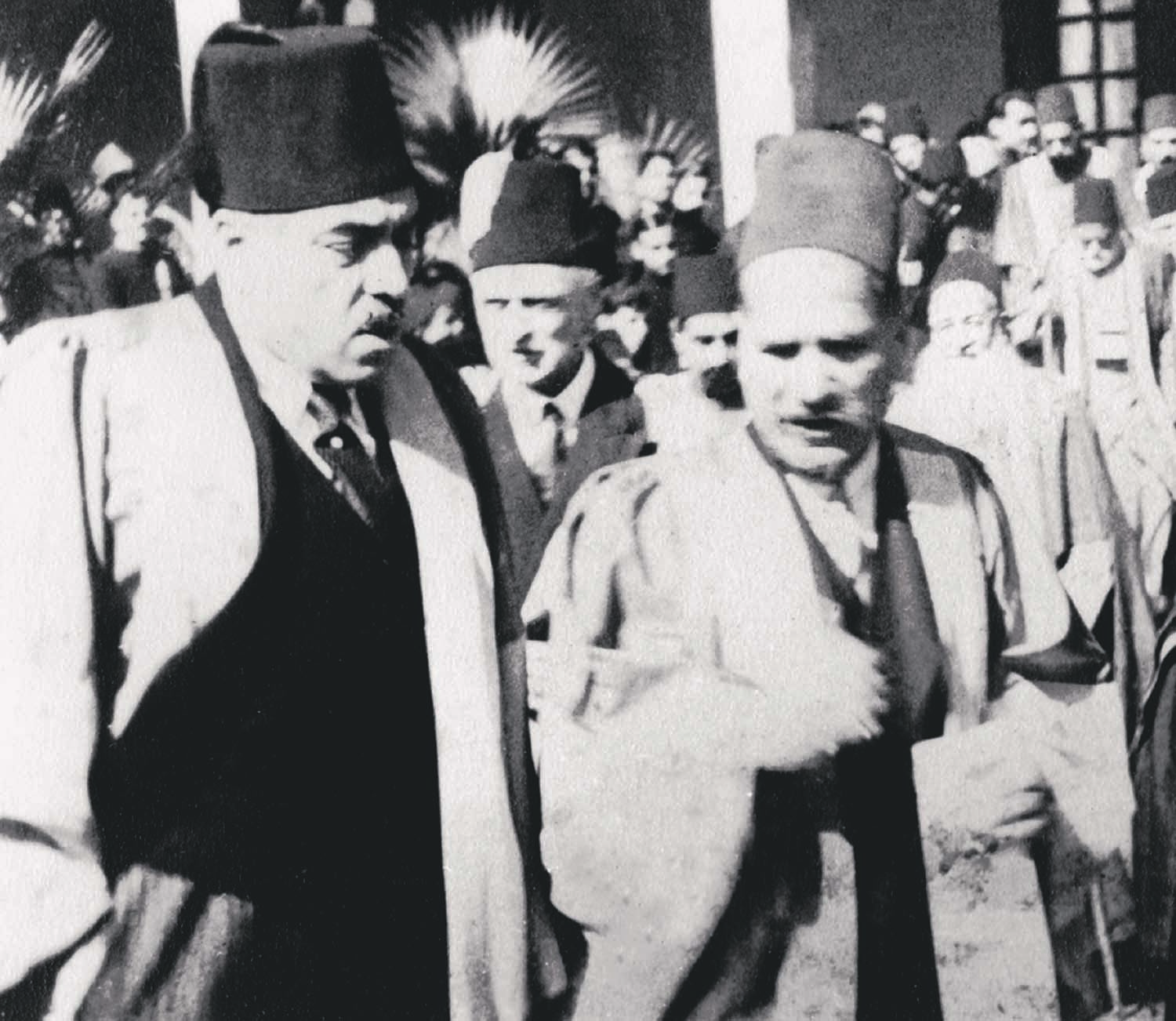 Allama Iqbal with Ross Masood when he visited the Aligarh Muslim University soon after the latter had taken over as the Vice-Chancellor in 1929. Photo: The Allama Iqbal Collection.