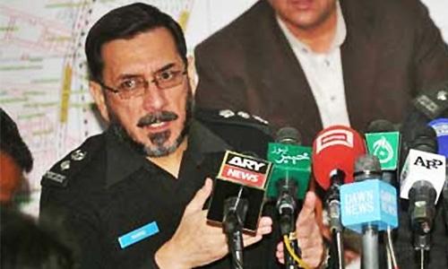 AIG Hamid Shakeel among 3 martyred in Quetta blast