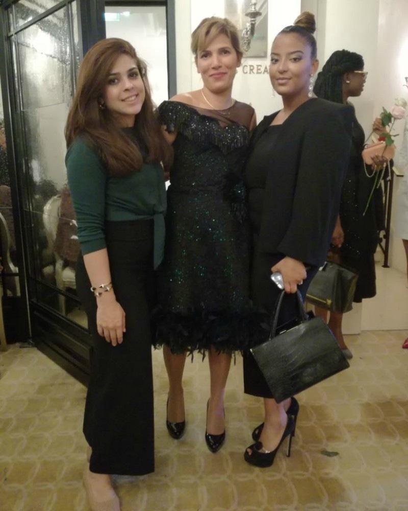 Natasha Kamal with Djamila Kerdoun and Yamna Aghrib