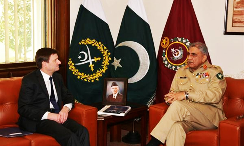 US envoy discusses regional security with army chief