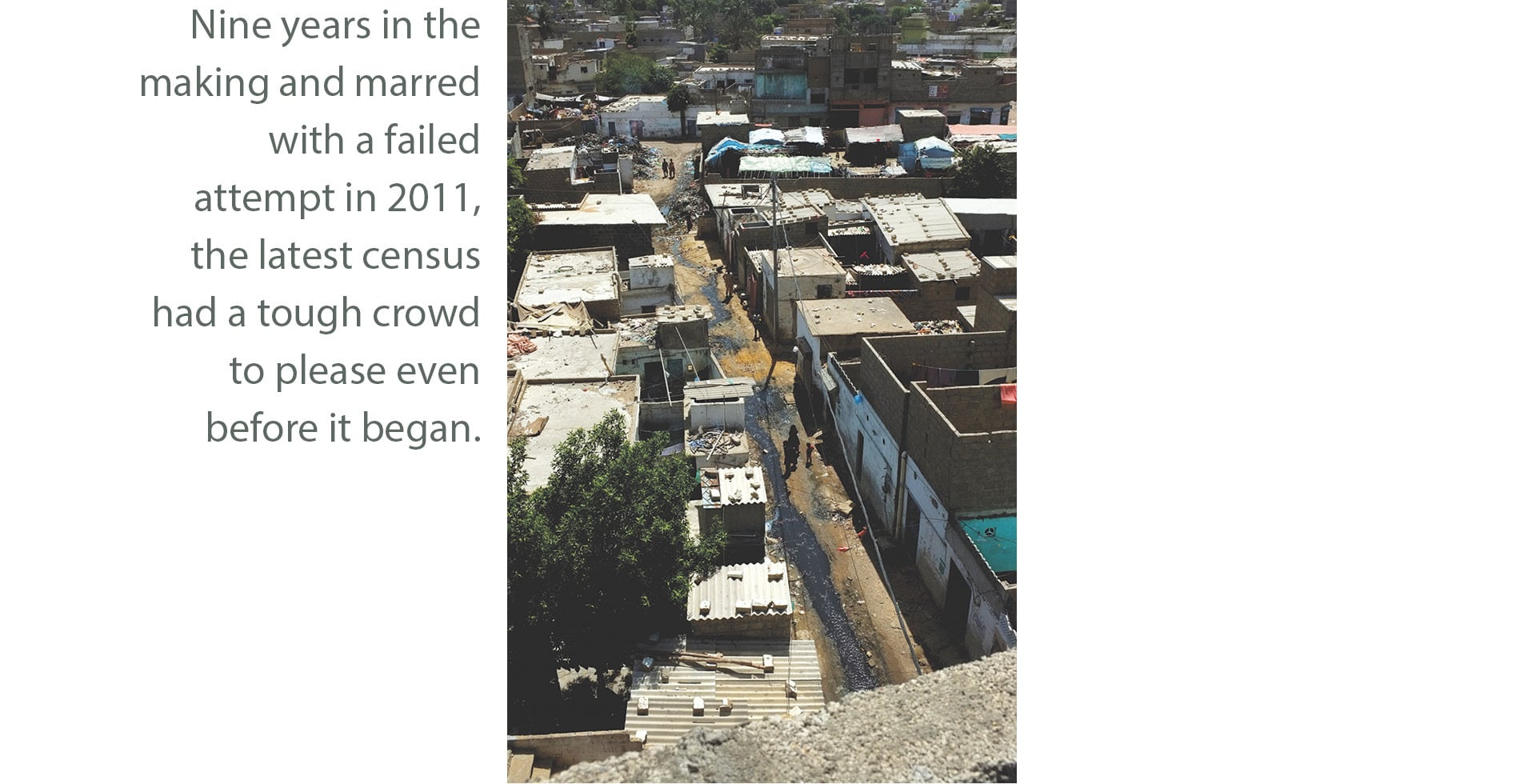 Houses in Baloch Goth, Karachi | Malika Abbas, White Star