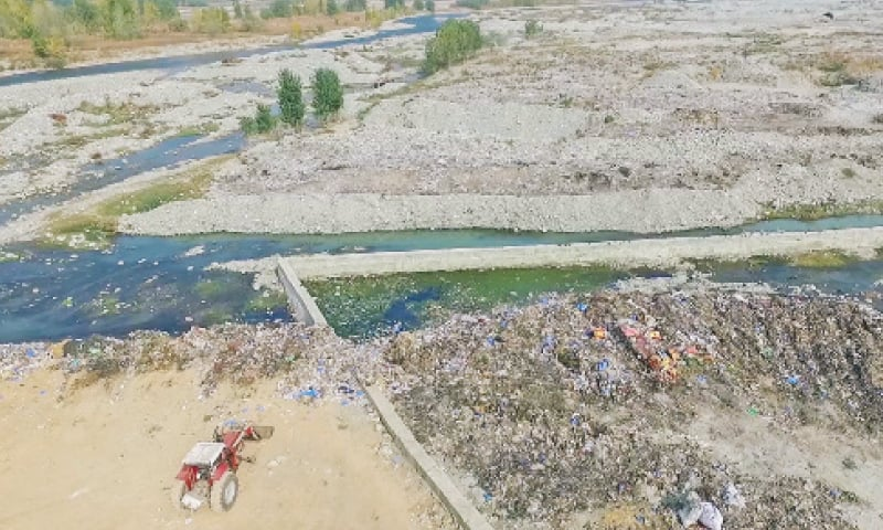 Swat's tourist resort turns into garbage dump