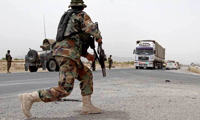 Taliban attacks kill dozen of security officers in Afghanistan