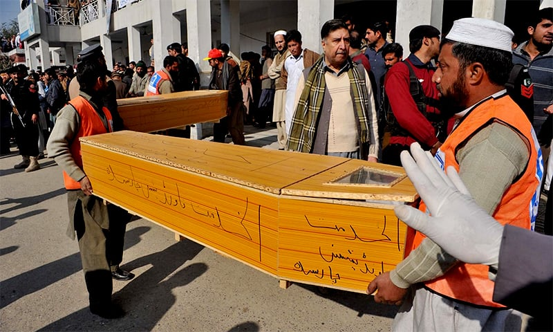 'Terror attacks killed 956 in Pakistan last year'