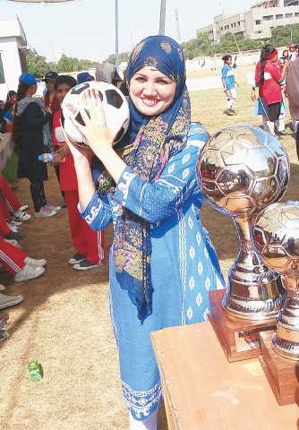 Coach Shamsa Kanwal | Photos by the writer