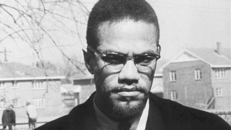 American human rights activist Malcolm X